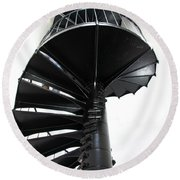 Staircase To Heaven Round Beach Towel