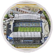 Stamford Bridge - Chelsea Round Beach Towel