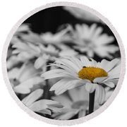 Standing Out From The Crowd 1 Round Beach Towel