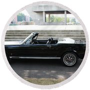 Stang Round Beach Towel