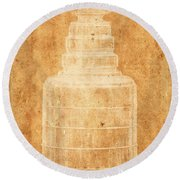 Stanley Cup 1a Round Beach Towel