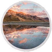 Stansbury Reflections Round Beach Towel