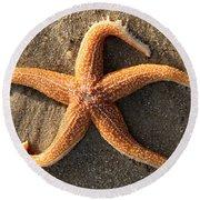 Star Round Beach Towel