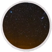 Star Light - Star Bright Round Beach Towel