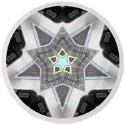 Star System Round Beach Towel