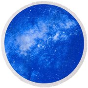 Starfield Round Beach Towel
