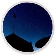Stars Round Beach Towel by Stelios Kleanthous