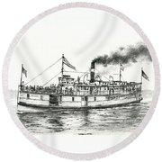 Steamboat Reliance Round Beach Towel