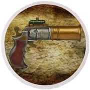 Steampunk - Gun - The Ladies Gun Round Beach Towel