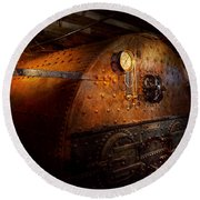 Steampunk - Plumbing - The Home Of A Stoker  Round Beach Towel