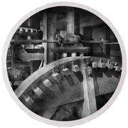 Steampunk - Runs Like Clockwork Round Beach Towel