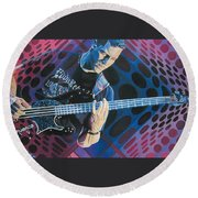 Stefan Lessard Pop-op Series Round Beach Towel