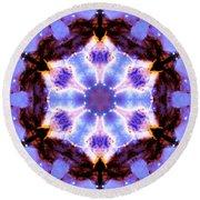Stellar Spiral Eagle Nebula IIi Round Beach Towel