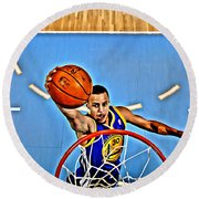Steph Curry Round Beach Towel