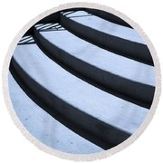 Steps Round Beach Towel