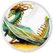 Stinger By Tom Kidd Round Beach Towel
