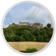 Stirling Castle Round Beach Towel