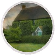 Stodmarsh House Round Beach Towel