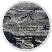 Stone Art Round Beach Towel
