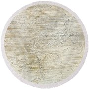 Stone Background Round Beach Towel