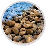 Stone Path Round Beach Towel
