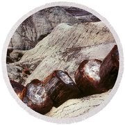 Stone Trees - 360 Round Beach Towel