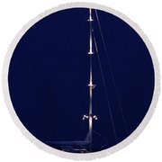 Stonington Starlight Round Beach Towel