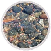 Stony Beauty Round Beach Towel