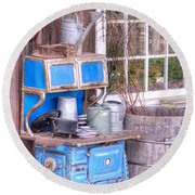 Stove  Appliance Cooker  Kitchen  Antique Round Beach Towel