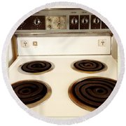 Stove Top Round Beach Towel