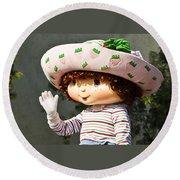 Strawberry Shortcake Round Beach Towel