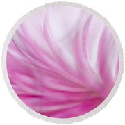 Strawflower Impression #3 Round Beach Towel