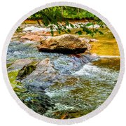 Stream II Round Beach Towel