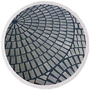 Streetscapes Round Beach Towel