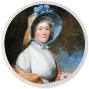 Stuart's Henrietta Marchant Liston Or Mrs. Robert Liston Round Beach Towel