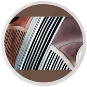Studebaker Bar And Grill Round Beach Towel