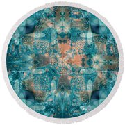 Subaqueous Round Beach Towel