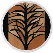 Sugar Maple Round Beach Towel