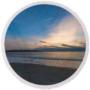 Sullivan's Island Sc Sunrise Round Beach Towel