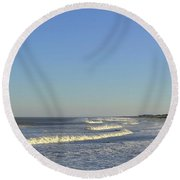 Summer Fun Jersey Shore Round Beach Towel