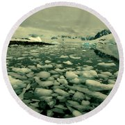 Summer Ice Round Beach Towel