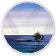Summer Samba Round Beach Towel