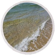 Summer Waves Round Beach Towel