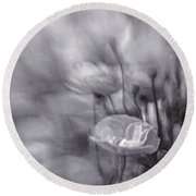 Summer Whispers Iv Round Beach Towel
