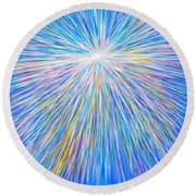 SUN Round Beach Towel