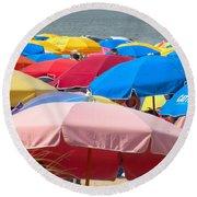 Sunbrellas Round Beach Towel