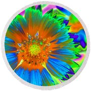 Sunburst - Photopower 2241 Round Beach Towel