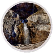 Sundance Aspen Waterfall Round Beach Towel