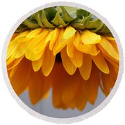 Sunflowers 6 Round Beach Towel