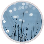 Sunlight Dances Round Beach Towel